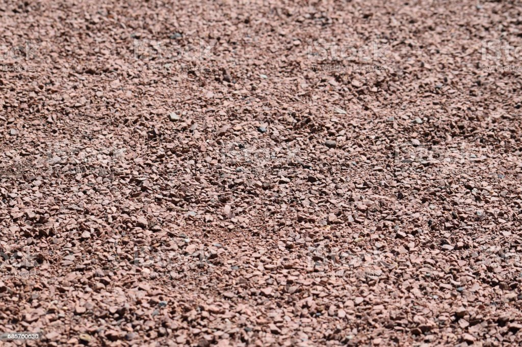 Red gravel background royalty-free stock photo