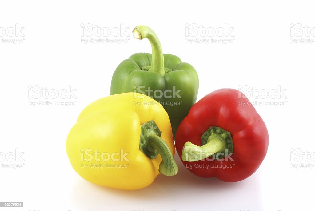 Red, green and yellow. royalty-free stock photo