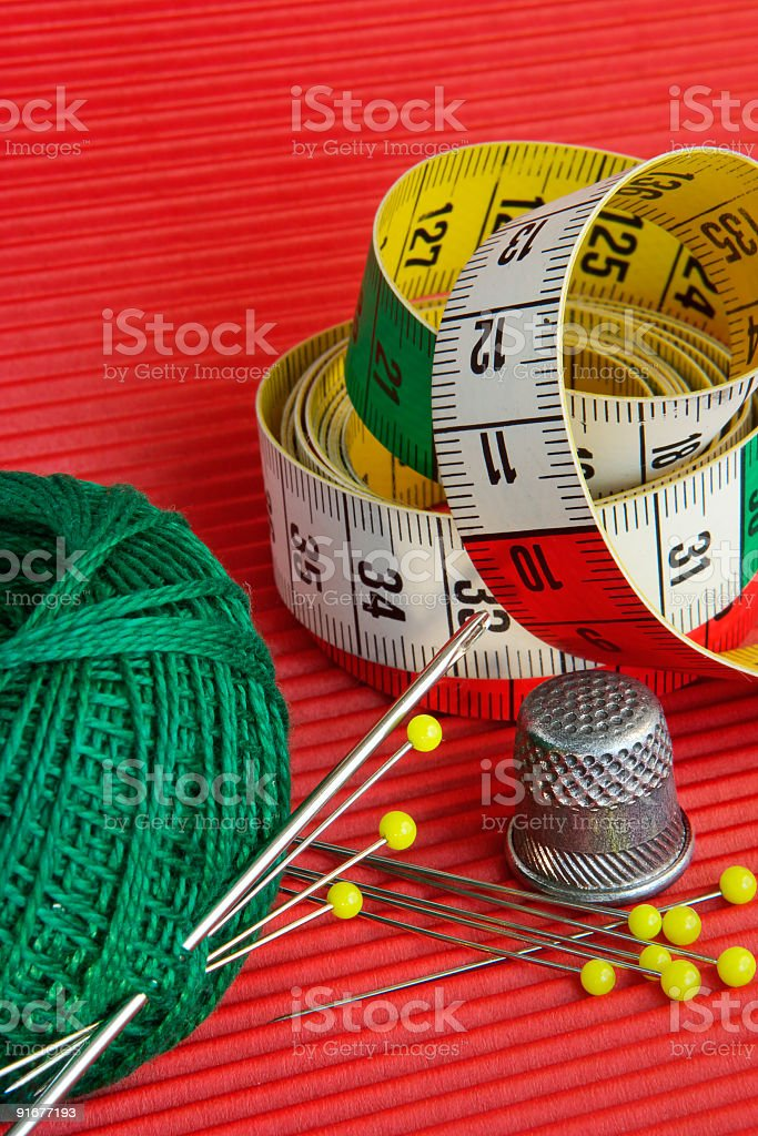 Red, green, yellow still-life royalty-free stock photo