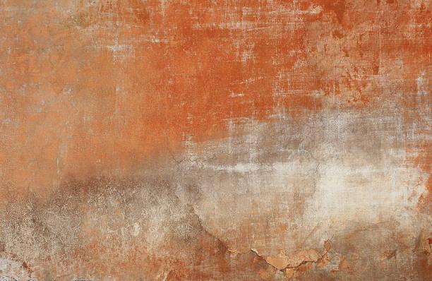 Red grunge Wand Textur, graue Roman – Foto