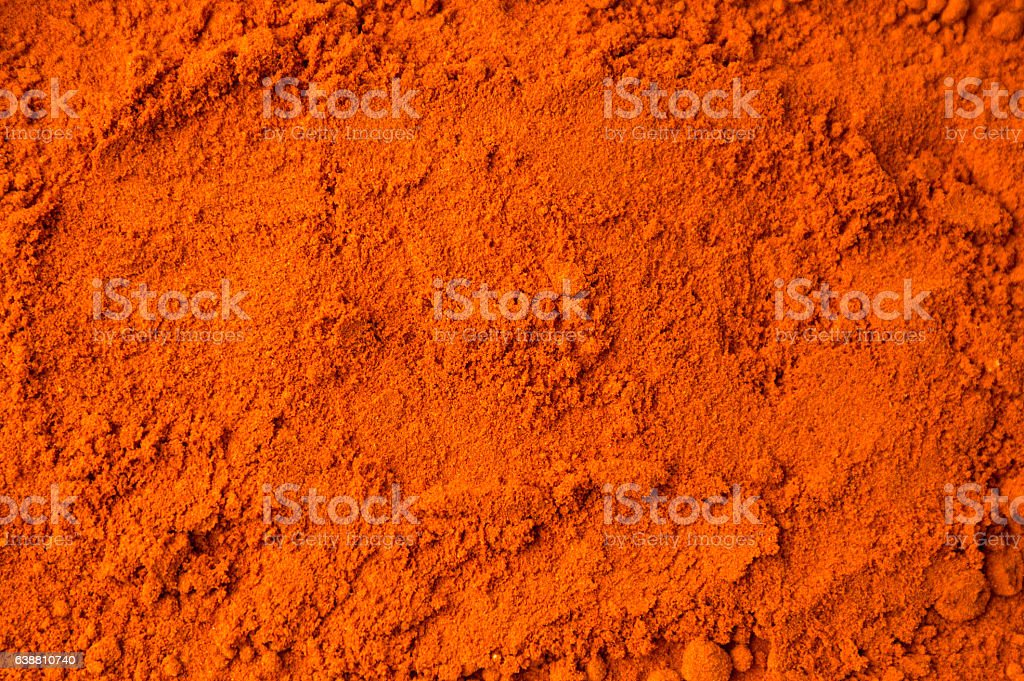 Red ground pepper background stock photo
