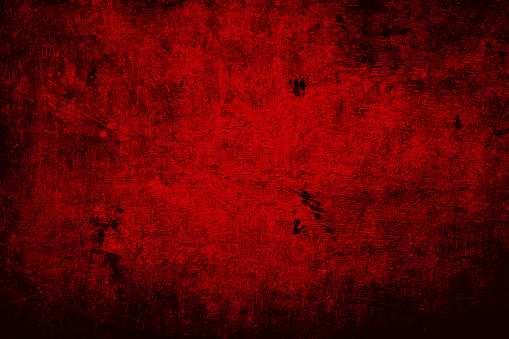Abstract background obtained by shooting on stained and scratched metal surface, with color manipulation in Photoshop.