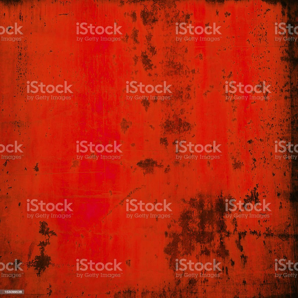 Red Grunge background with copyspace royalty-free stock photo