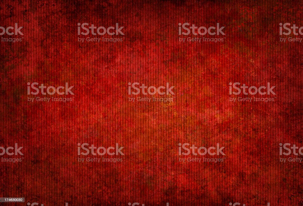 red grunge corrugated cardboard royalty-free stock photo