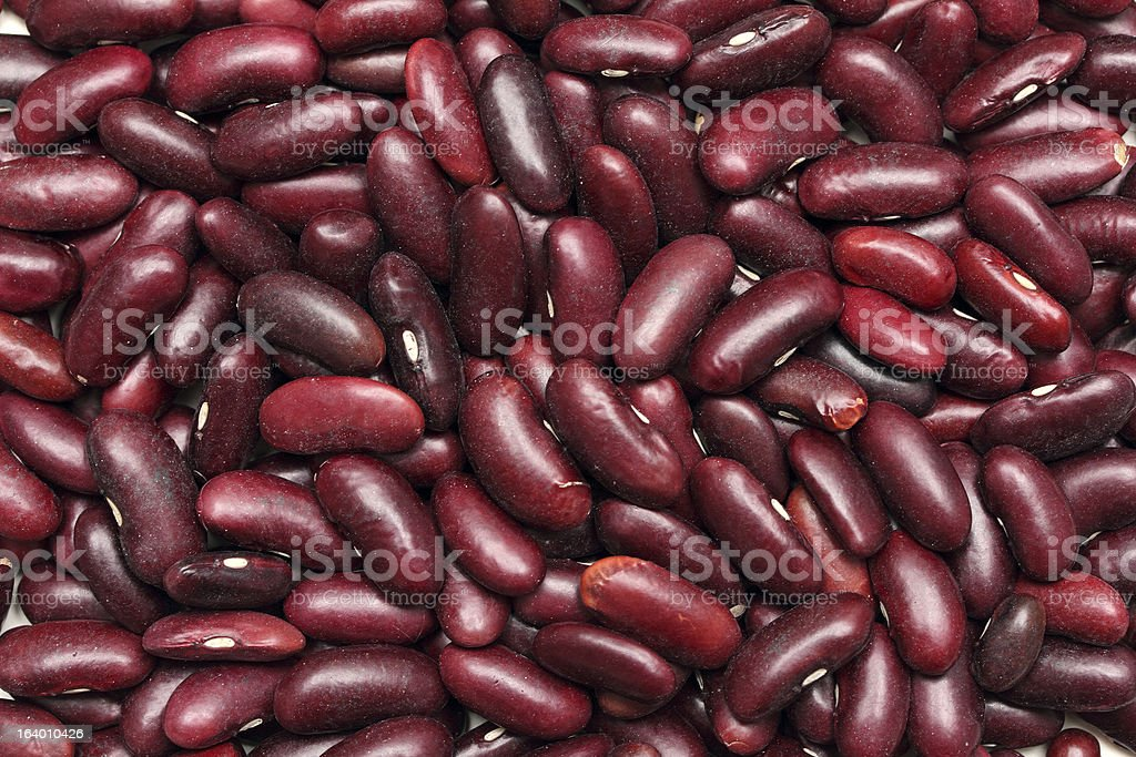 red haricot beans background royalty-free stock photo