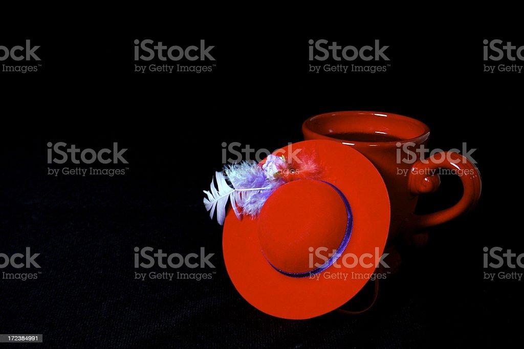 Red Hat Breakfast stock photo