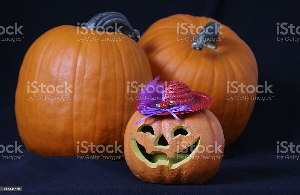 Red Hat Halloween royalty-free stock photo