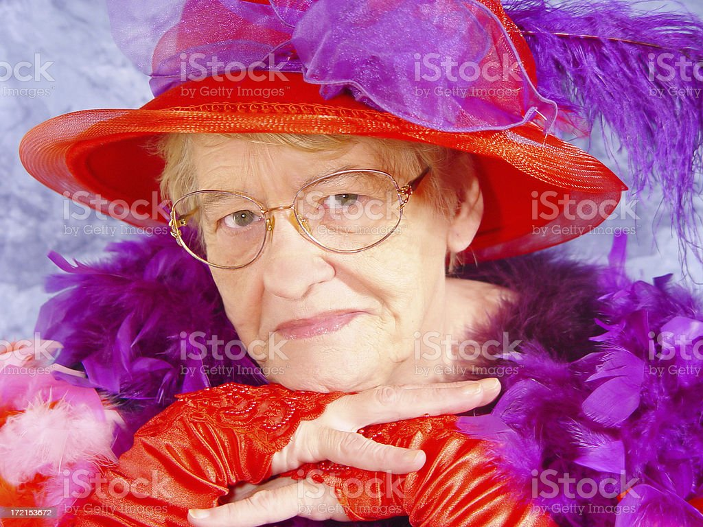 red hat series stock photo