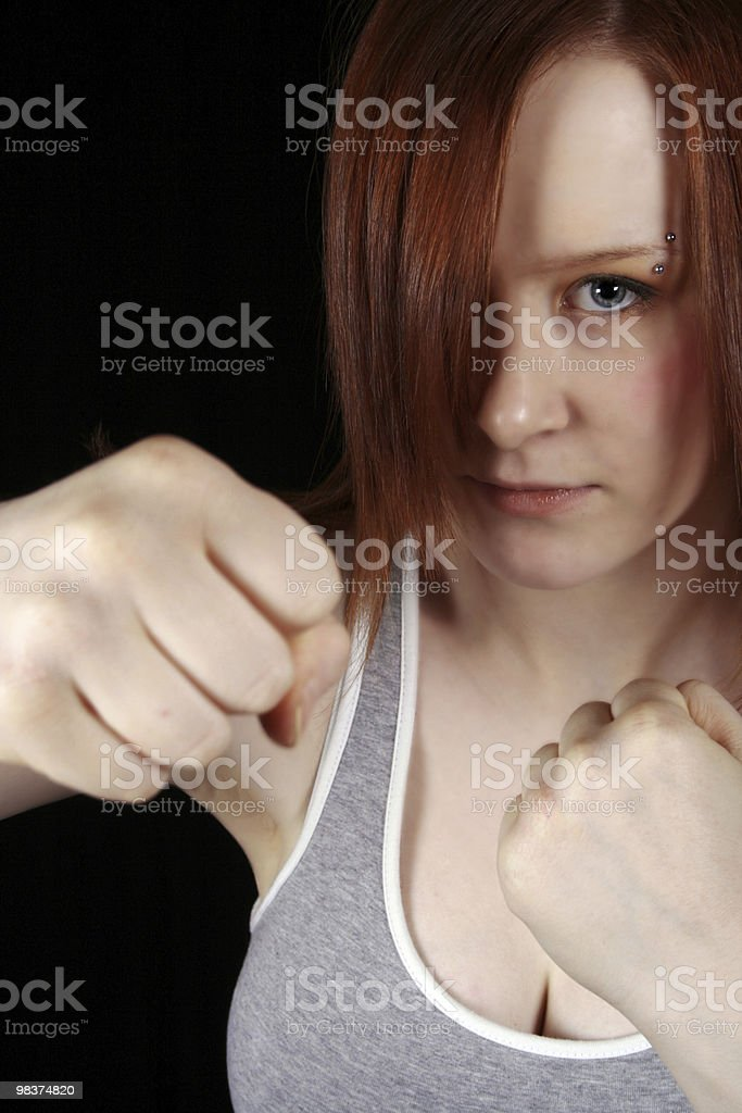 red head boxer royalty-free stock photo