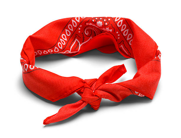 Red Headband stock photo