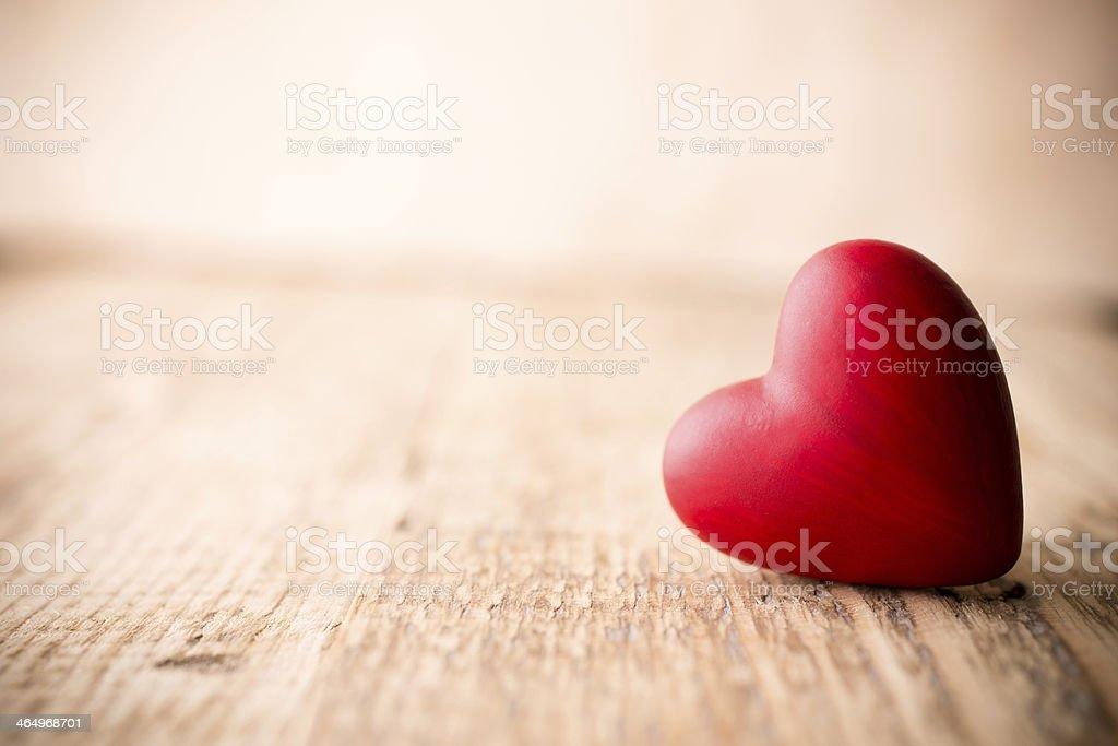 Vermelho coração. - foto de acervo