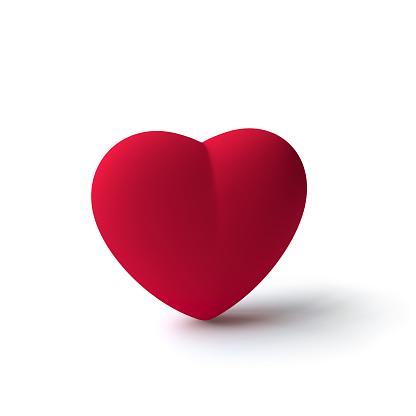 red heart symbol (3d model)