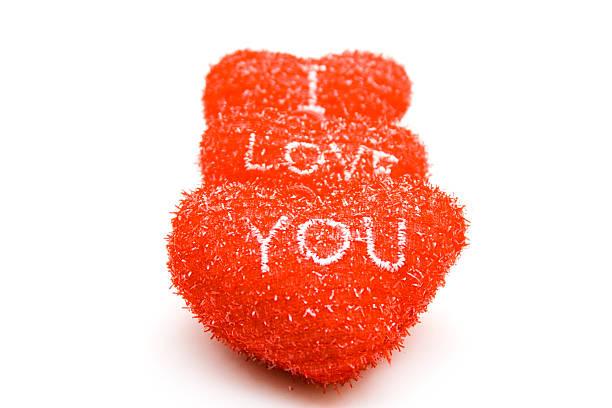 rote herzen für valentinstag - liebesbeweis für ihn stock-fotos und bilder