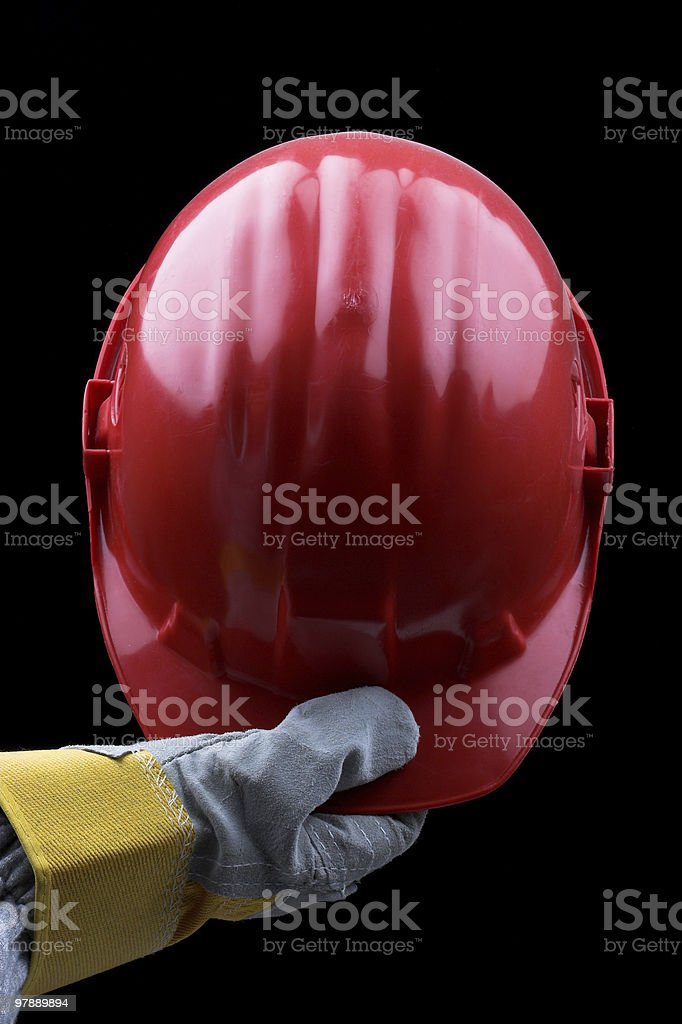 red helmet royalty-free stock photo