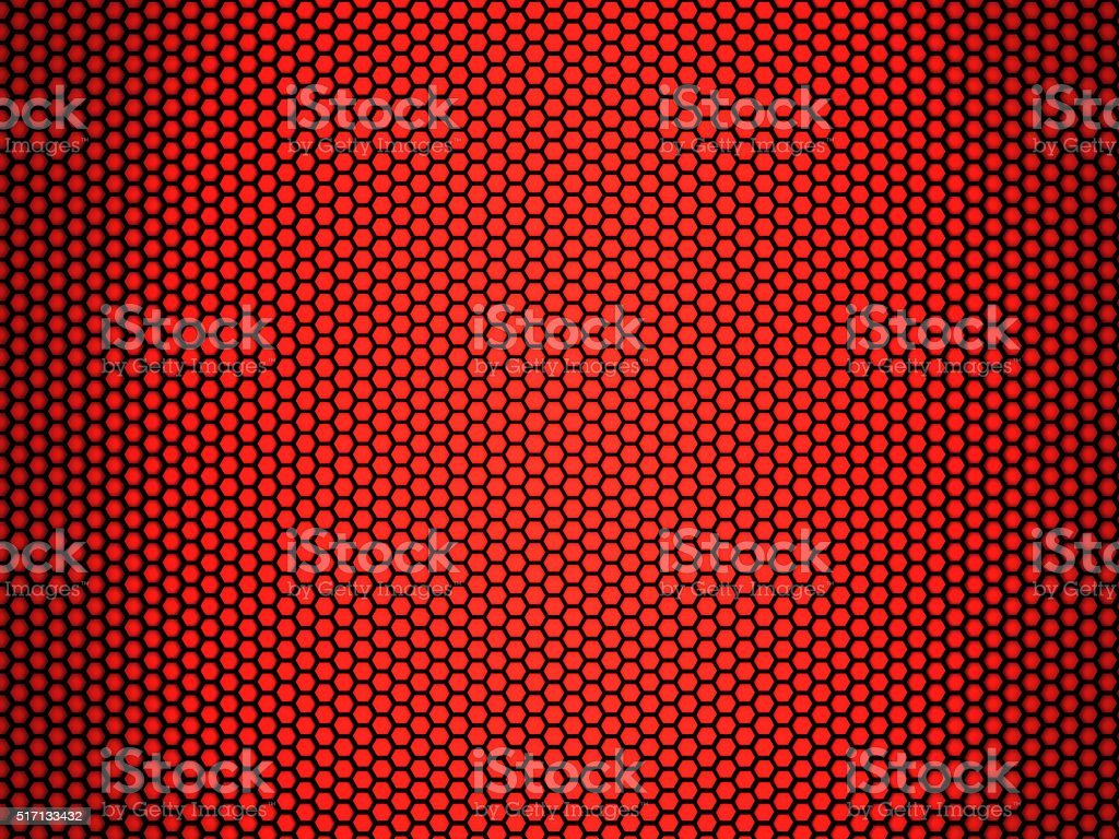 red honeycomb stock photo