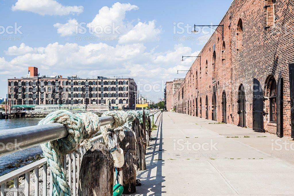 Red Hook, Brooklyn stock photo