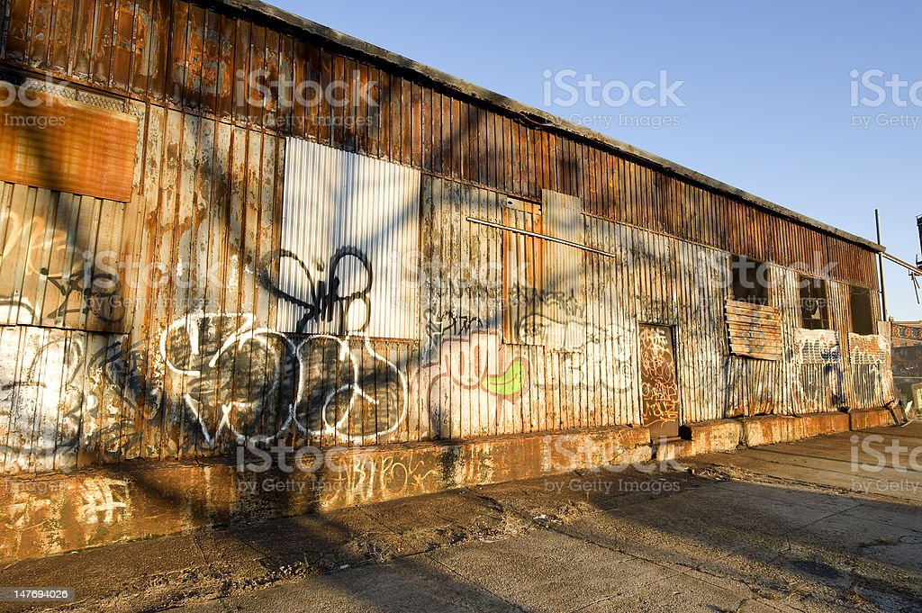 Red Hook Grime stock photo