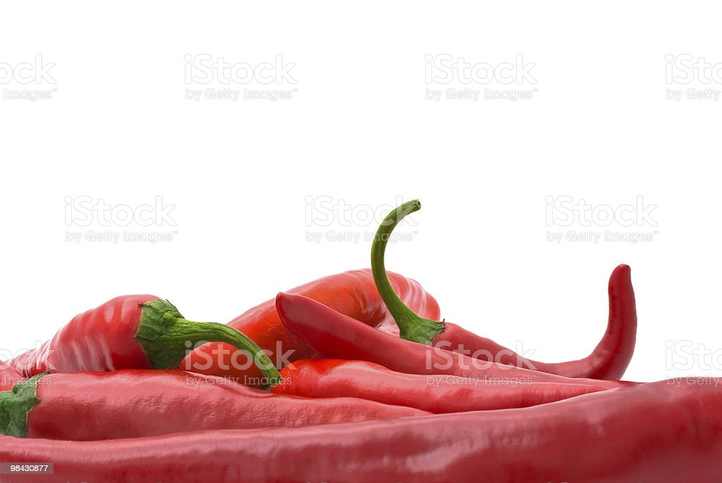 red hot chili pepper royalty-free stock photo
