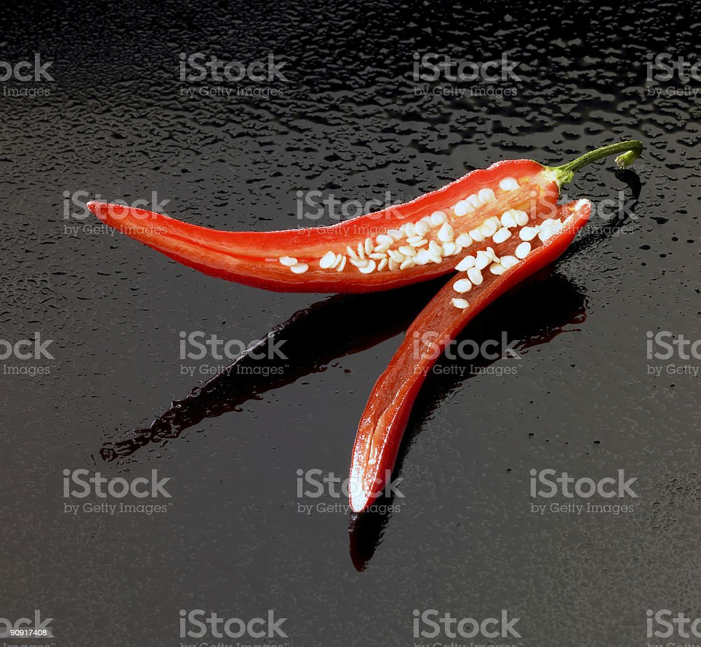 red hot chili royalty-free stock photo
