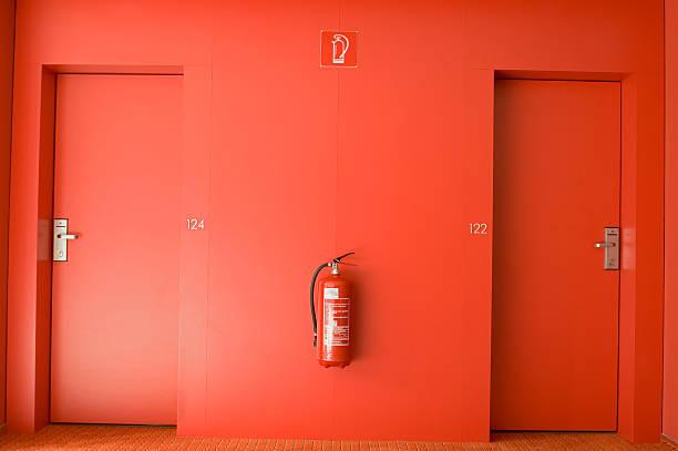 Rote Hotel Etage – Foto