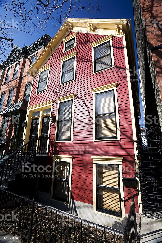 Red House, Chicago royalty-free stock photo