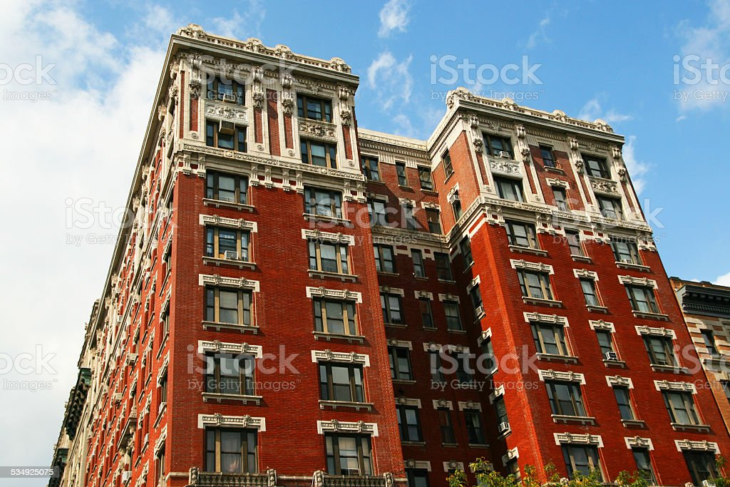 Rotes Haus in New York – Foto