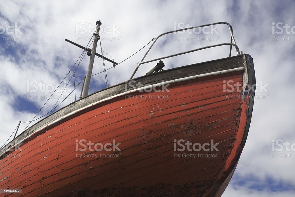 red hull royalty-free stock photo