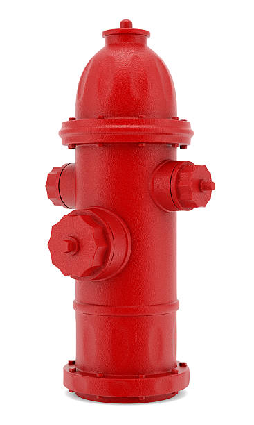 red hydrant isolated on white background red hydrant isolated on white background fire hydrant stock pictures, royalty-free photos & images