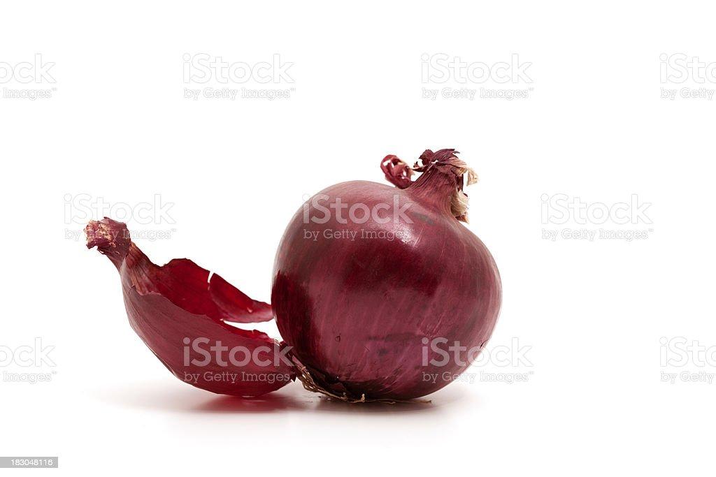 red italian onion royalty-free stock photo