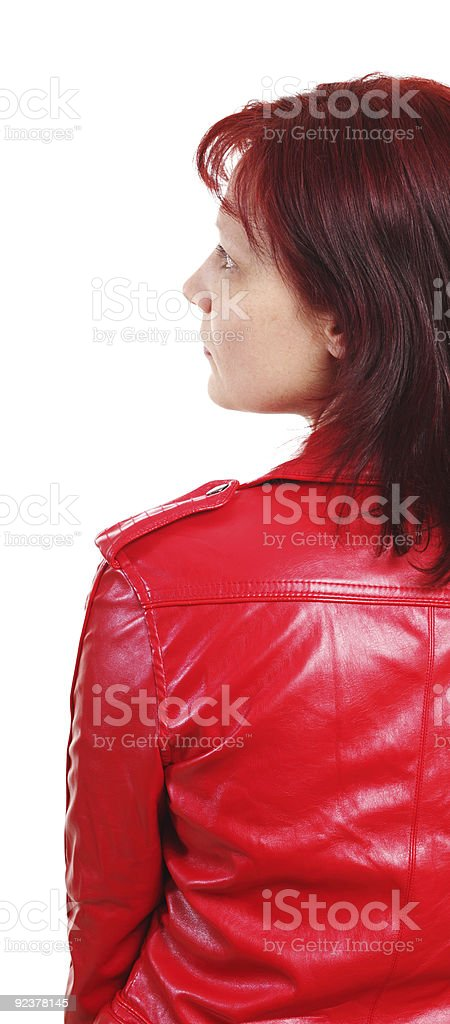 red jacket royalty-free stock photo