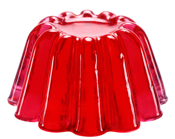 Red jelly stock photo