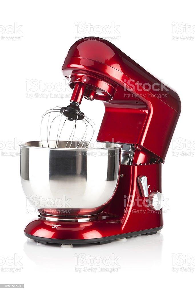Red kitchen Fique Misturador foto em fundo branco - foto de acervo