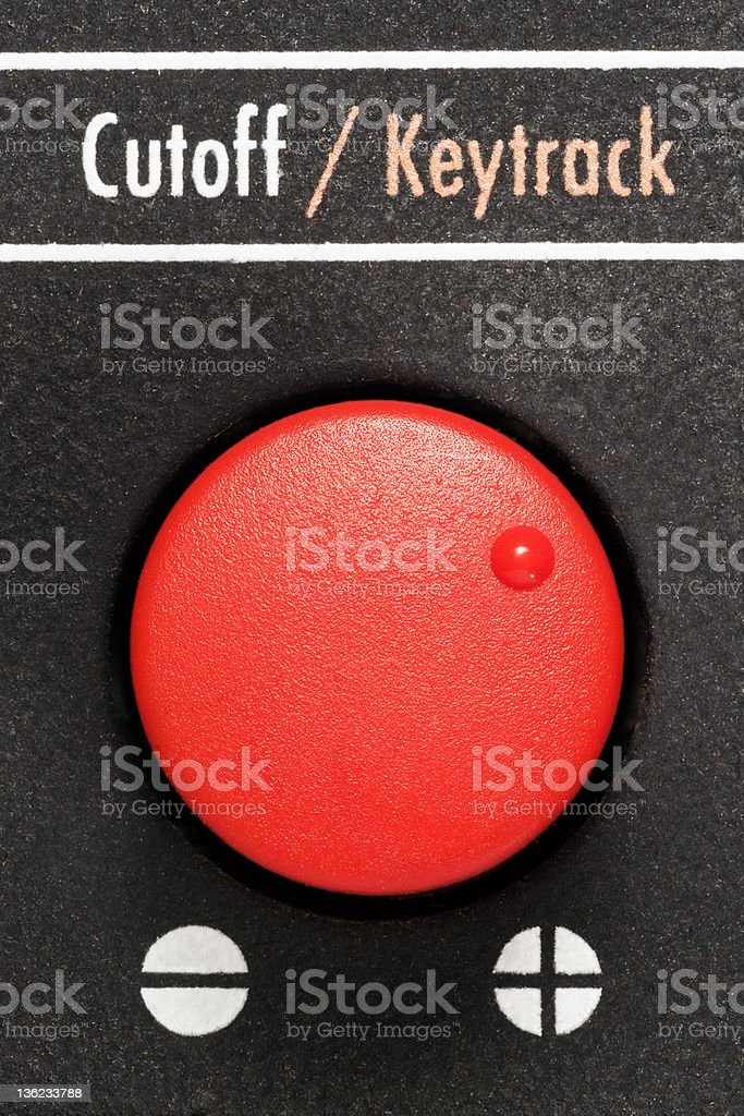 Red Knob stock photo