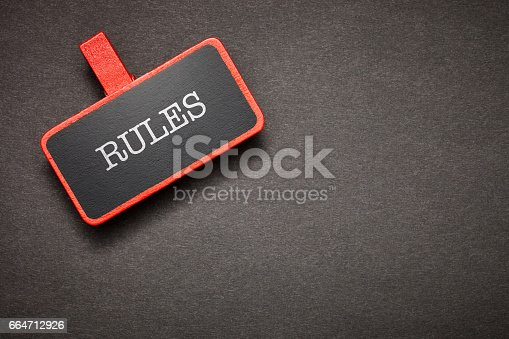 istock red label on the chalkboard 664712926