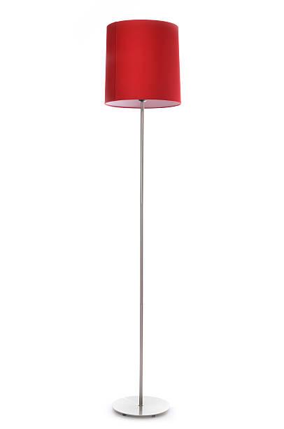 Lampada rossa - foto stock