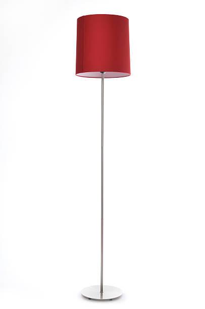 lampe rouge - lampe électrique photos et images de collection
