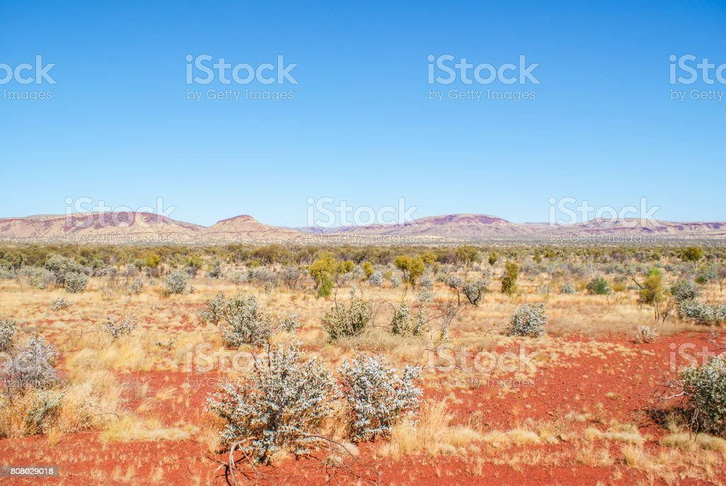 red land stock photo