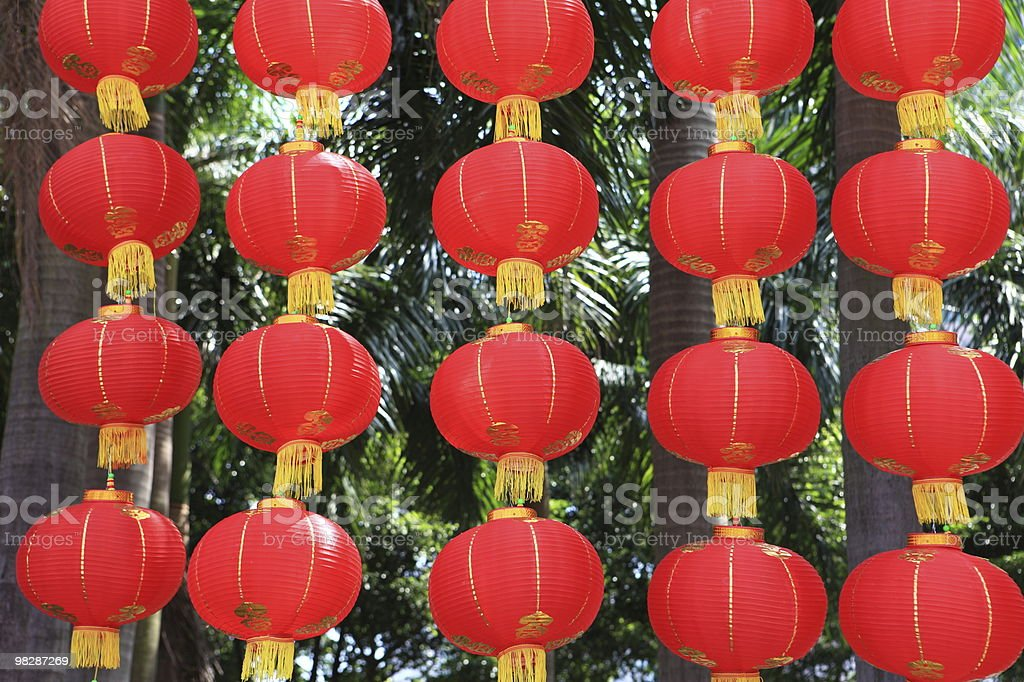 Red Lantern royalty-free stock photo