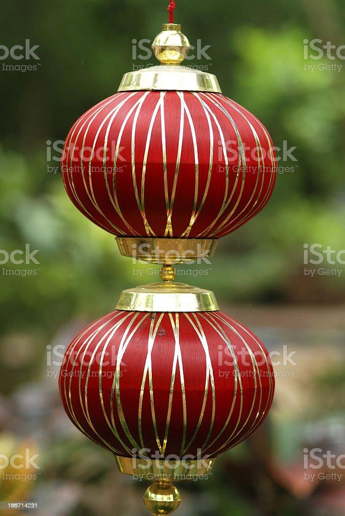 Red  Lanterns. royalty-free stock photo