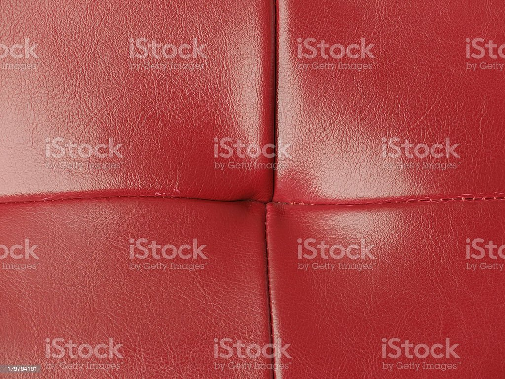 Red Leather Background 4 royalty-free stock photo