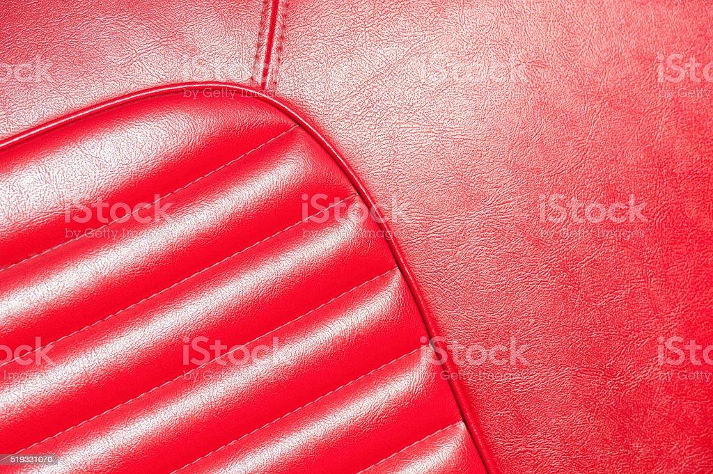 Rotes Leder, Nahaufnahme – Foto