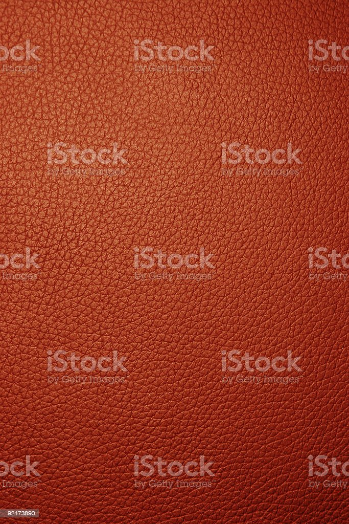 Red leather - Macro royalty-free stock photo