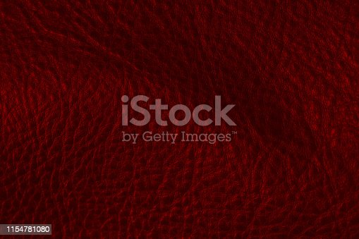 Red leather texture background vintage style for graphic design