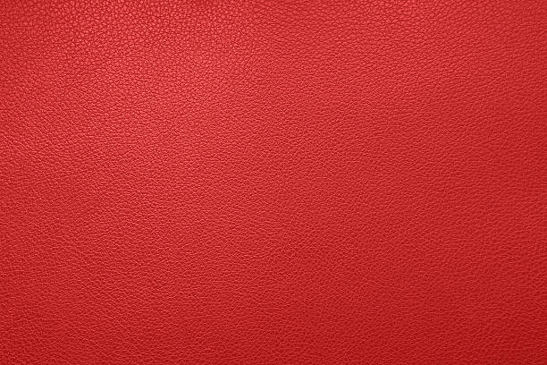 Red leather texture Red leather texture leather stock pictures, royalty-free photos & images