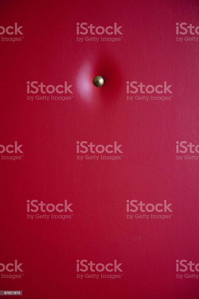 red leather upholstery royalty-free stock photo