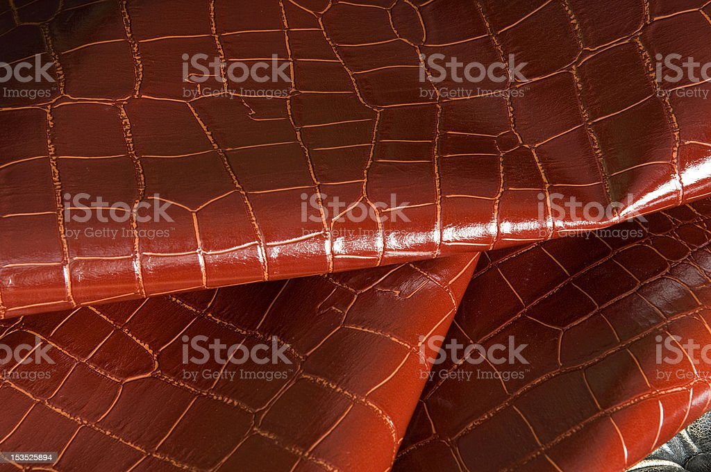 red leatherette royalty-free stock photo