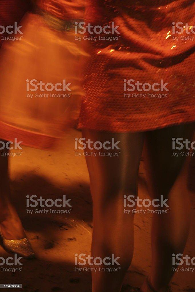 red legged woman royalty-free stock photo