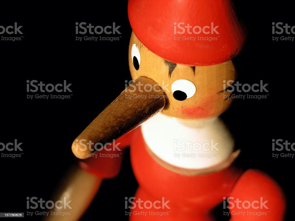 red liar! stock photo