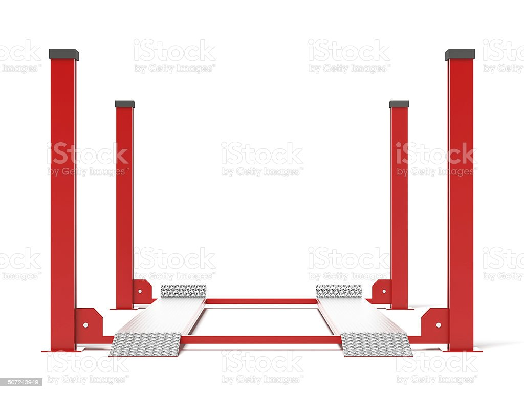 Red lift stock photo