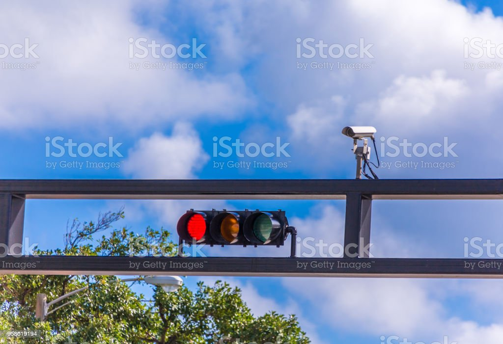 Red Light Camera Stock Photo - Download Image Now - iStock